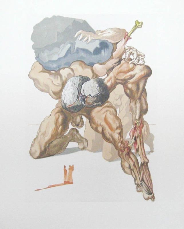 Inferno - Salvador Dalí