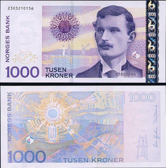 Norwegian 1000 kroner