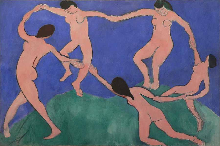 The-Dance-by-Henri-Matisse-painting
