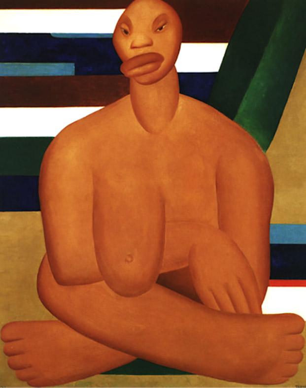 A Negra (1923). Acervo do Museu de Arte Contemporânea da Universidade de São Paulo.