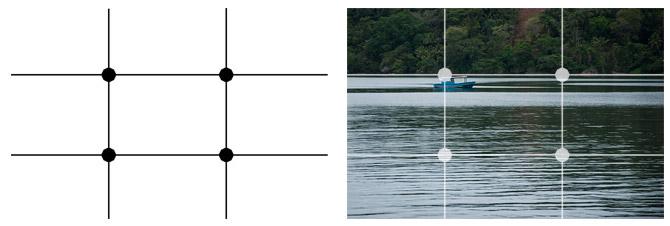 Regra dos terços; como fotografar paisagens