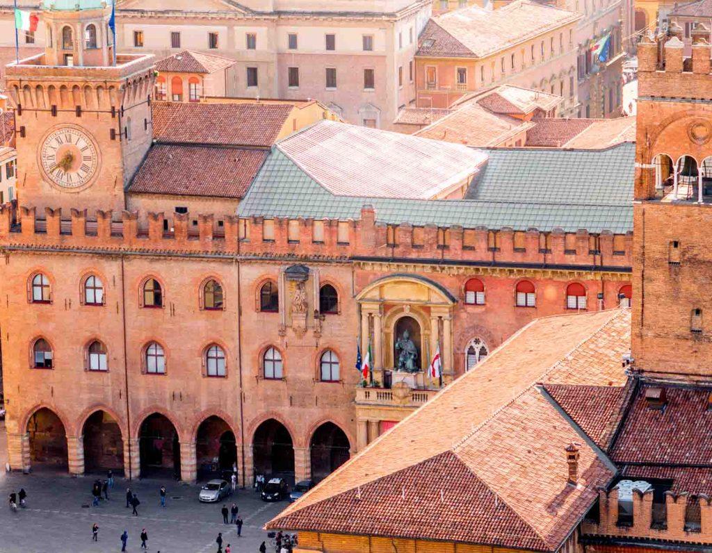 Vista aerea de Bologna