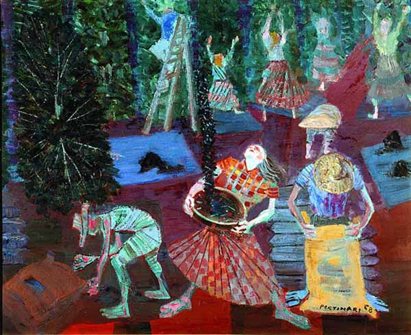 Candido Portinari; Coffee Harvest (1958)