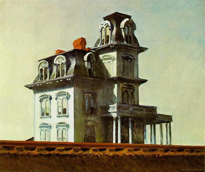 Edward Hopper - House by The Railroad (1925)