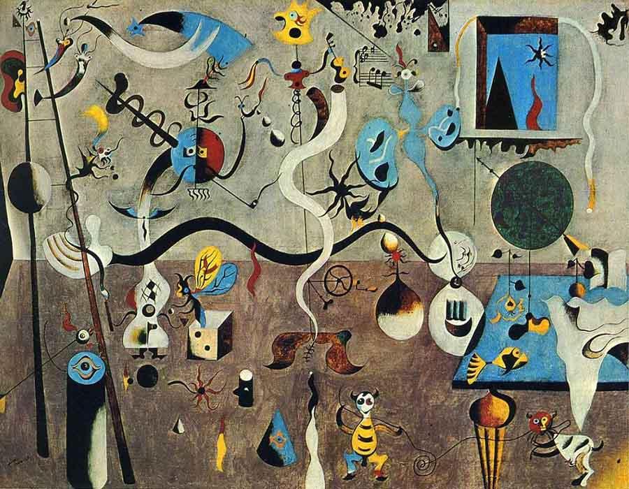 As obras mais conhecidas de Joan Miró