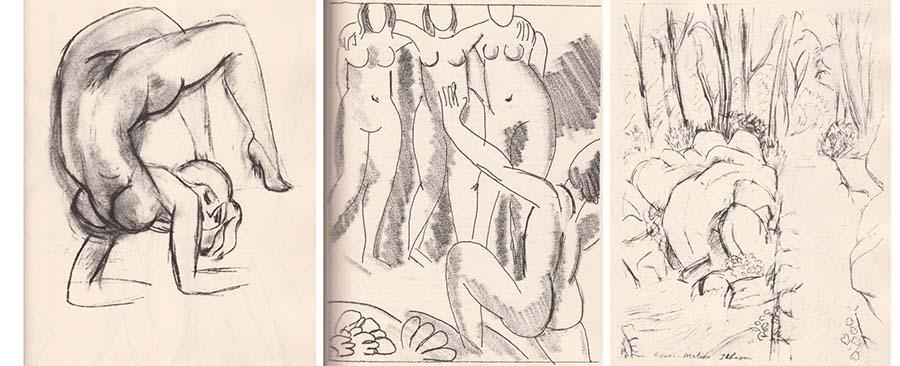 Ilustração de Matisse para o livro Ulisses
