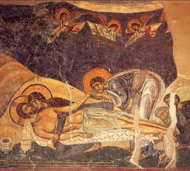 Afrescos em Nerezi perto de Skopje (1164)