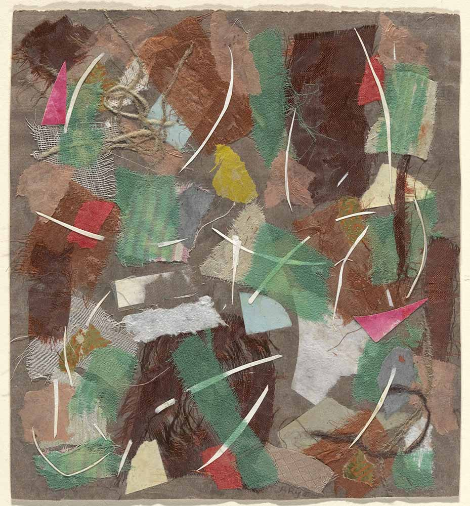 expressionismo abstrato; Anne Ryan, Collage, 353 (1949)