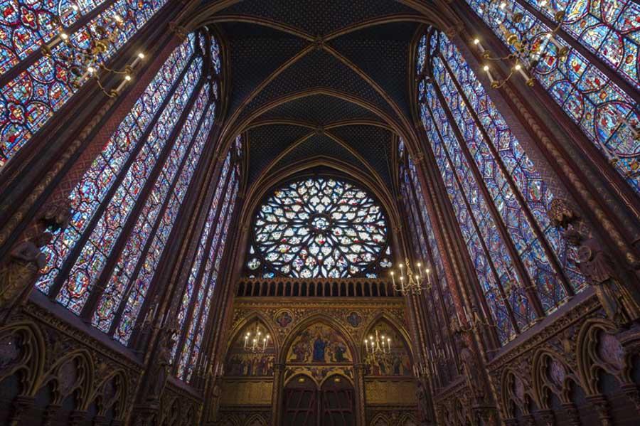 Basilica de Saint Denis; Arquitetura gótica