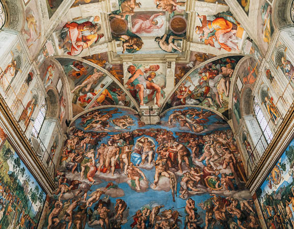Capela Sistina de Michelangelo