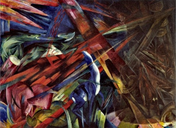 Franz Marc - Fate of Animals (1913)