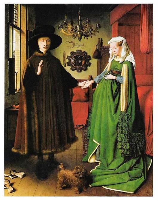 Jan van Eyck - O casal Arnolfini