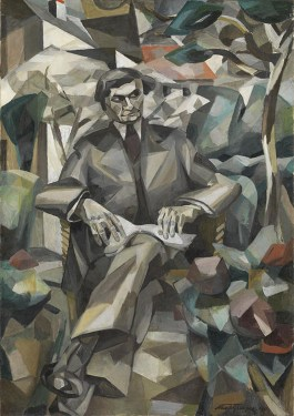 cubismo; Albert Gleizes; Retrato de Jacques Nayral (1911) http://www.tate.org.uk/art/work/T02410