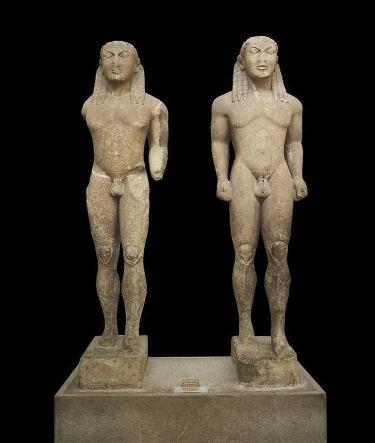 período arcaico; kleobis-and-biton