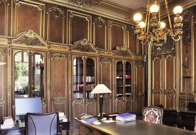 Rococó salon