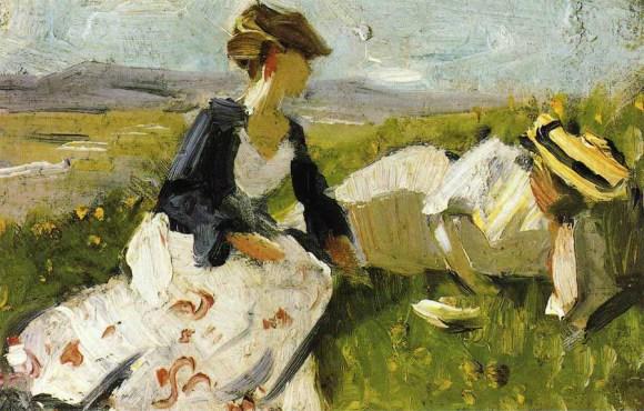 Two Women on the Hillside (1906)