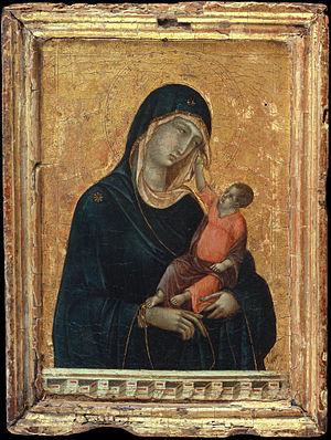 Duccio di Buoninsegna - Madonna and Child