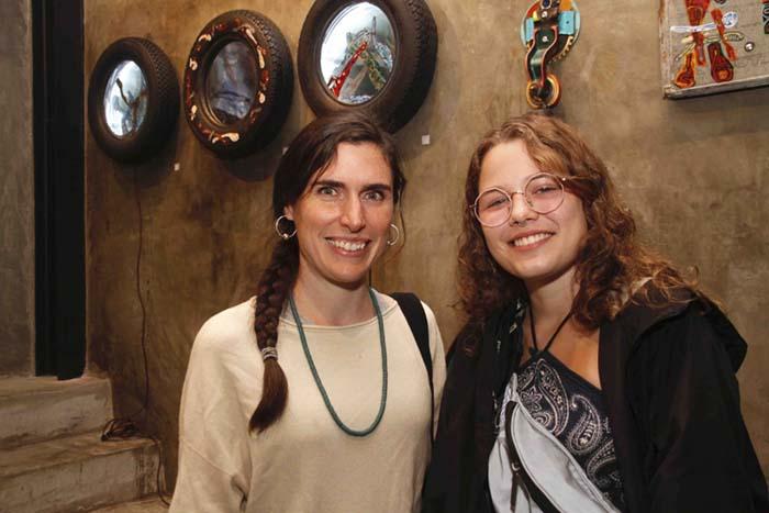 galeria zero; Amada Coen e Jade Spaniol