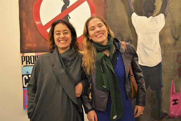 Cristiane Mohallem e Adriana Coppio ; Baró Galeria