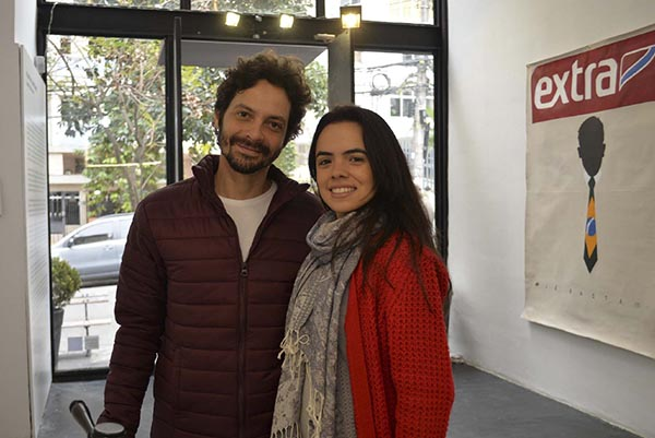 Fábio Baroli e Andréia Narciso; Baró Galeria