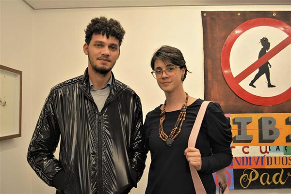 Felipe Brito e Anna Heloisa Segatta; Baró Galeria