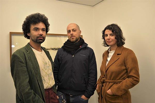Gilson Rodrigues, Tomaz Klotzel e Yasmin Guimarães; Baró Galeria