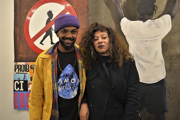 Rhailander Conceição Exaltação e Erica Bastos