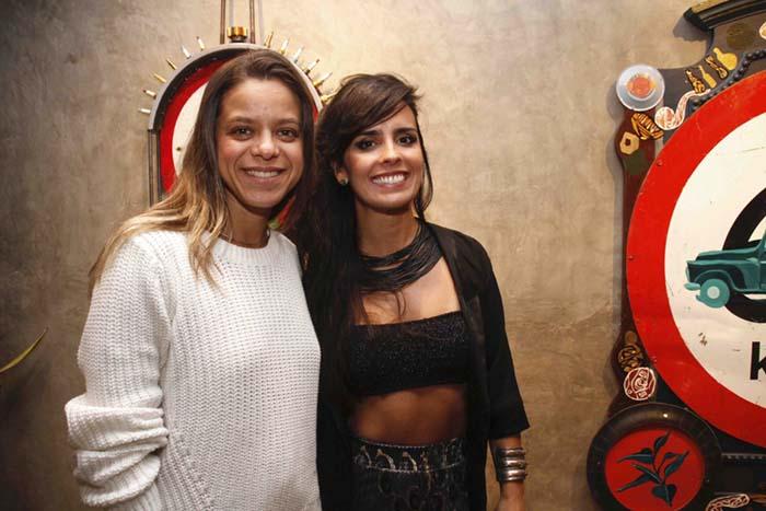 Vânia Lourenço e Juliana Becker
