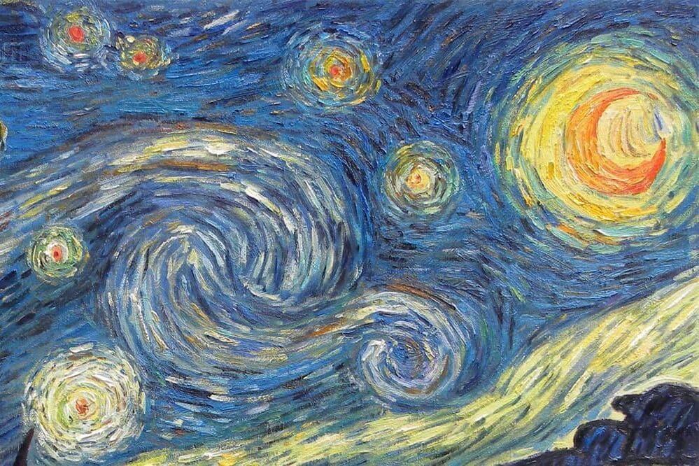 Detalhe - Noite Estrelada