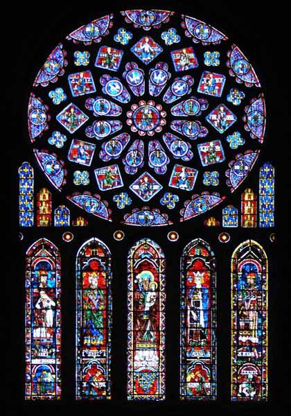 vitrais da catedral de chartres