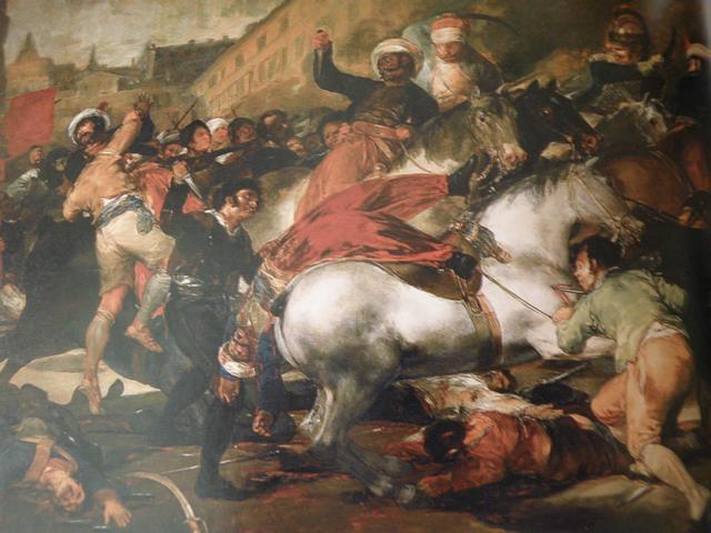 Goya; O 2 de Maio de 1808 | Museu do Prado, Madri.