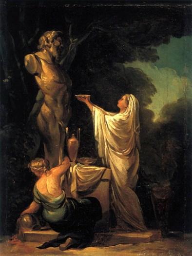 Sacrificio a Pan (1771) | Coleção Particular, Zaragoza, Espanha