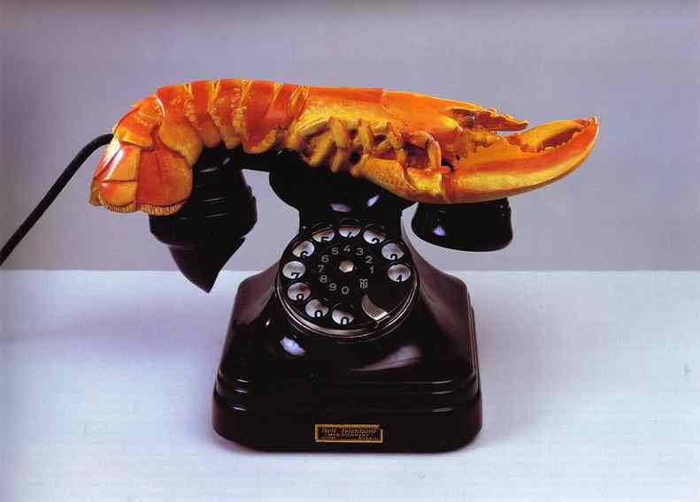 lobster-telephone-1938 Salvador Dali