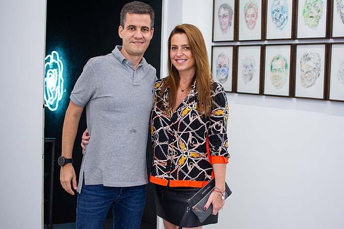Guilherme Boetger e Alessandra Forma