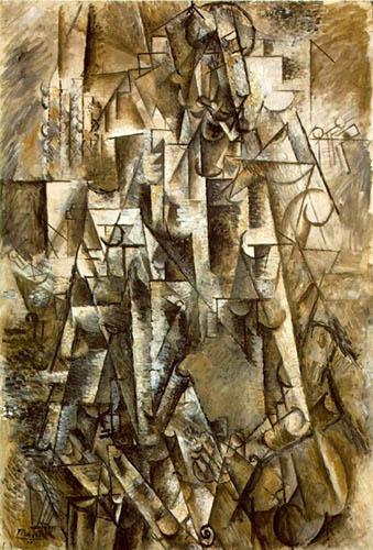 O Poeta Picasso - cubismo
