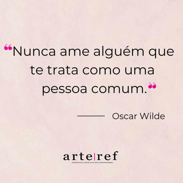 Oscar Wilde; Frases de amor