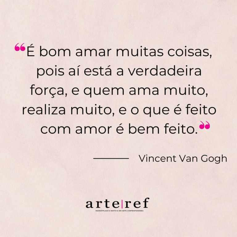 Van Gogh; Frases de amor
