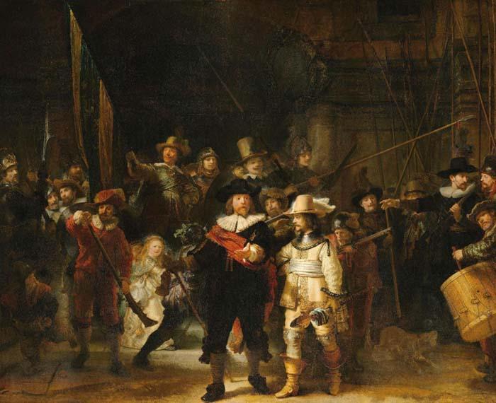 Rembrandt - Barroco na Holanda