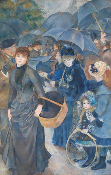 Pierre-Auguste Renoir | Os Guarda-Chuvas (1881-1886)