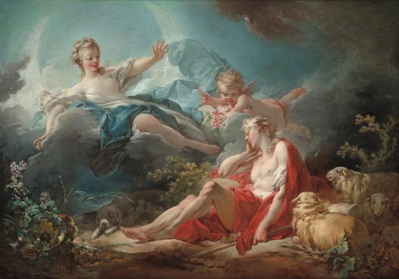 FRAGONARD e o Rococó Frances