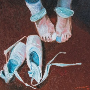 Sávio Floret. Sapatilhas - OST 70X70 cm - R$ 16.800,00