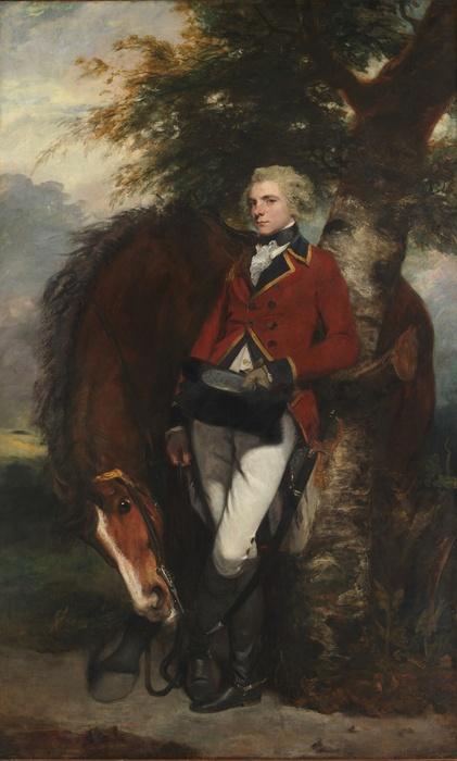 Sir Joshua REYNOLDS (1723-1792) Capitão George K.H. Coussmaker (1759-1801), 1782. Óleo sobre tela, 238.1x145.4. The Metropolitan Museum of Art, Nova York, EUA.