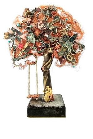 Cláudia Seber. Série Árvores