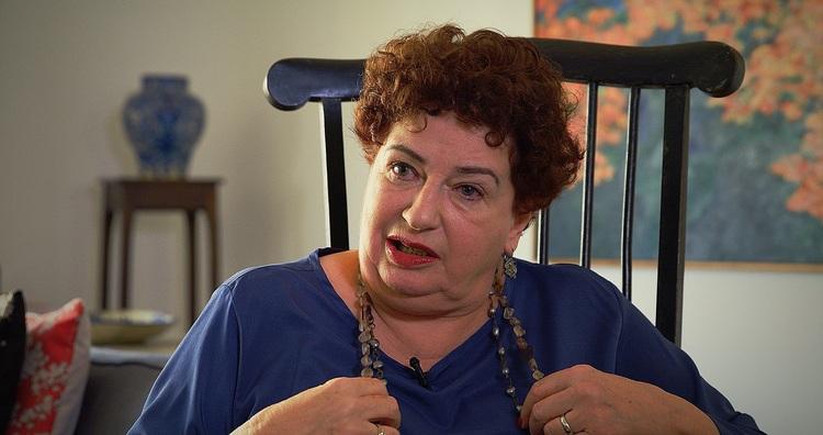 Marília de Andrade - filha de Oswald de Andrade