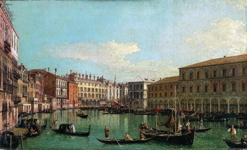 O Rococó italiano e as vedute