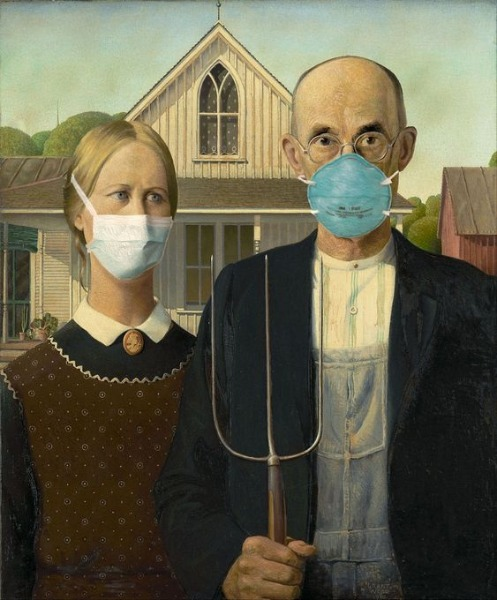 Pandemic Gothic - American Gothic