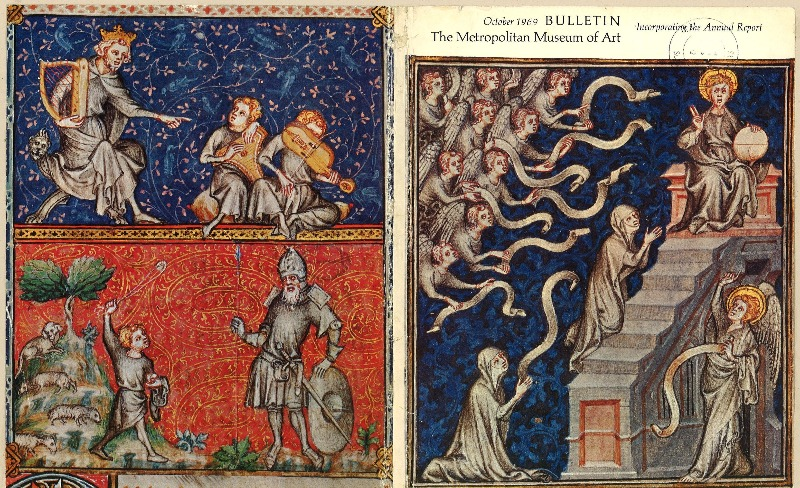 Obra medieval de Jean Pucelle