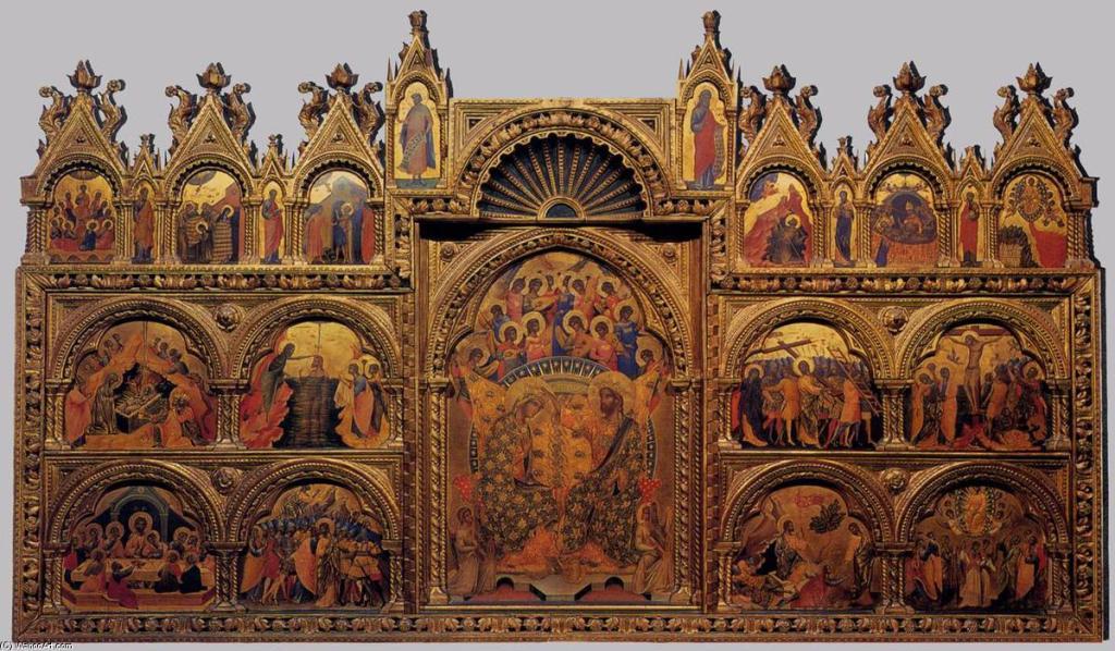 Paolo Veneziano - têmpera - 167 x 285 cm - 1350 - (Gallerie dell'Accademia (Venice, Italy))