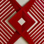 Squares in Shape 1, 2017. Escultura em papel.