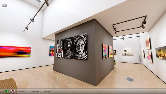 Exposição virtual; Photoarts Gallery